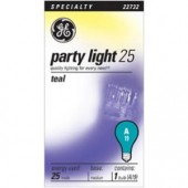 GE 22732 Incandescent Transparent Teal